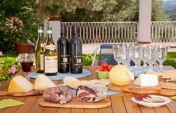 Aromas and flavours of the Gallura